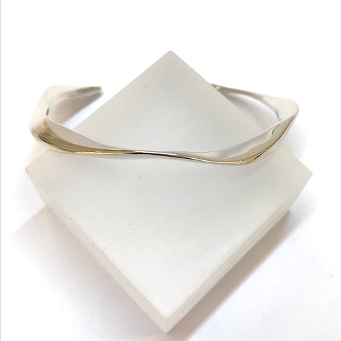 Tidal Silver Cuff