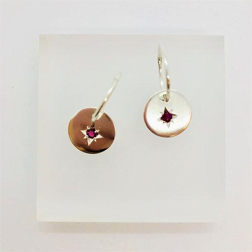Starry night - earrings