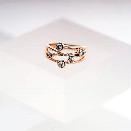 Basket of Dreams Rose Gold Ring