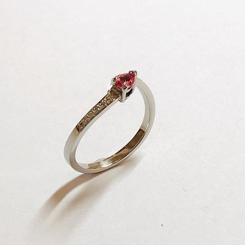 Spirit Paparadscha Sapphire Diamond Ring