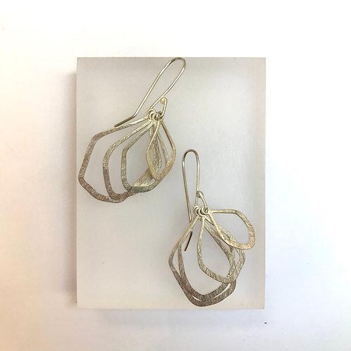 Swinging Pebble Earrings by Phillipa Gee