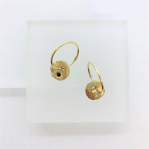 Gold Disco - earrings