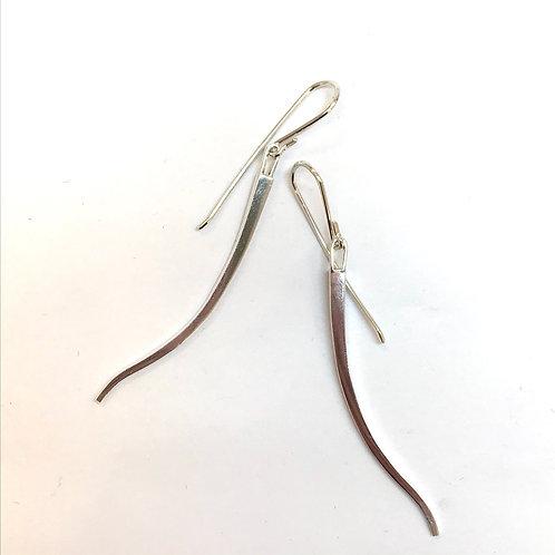 Sliver Earrings by Carmen Burgi