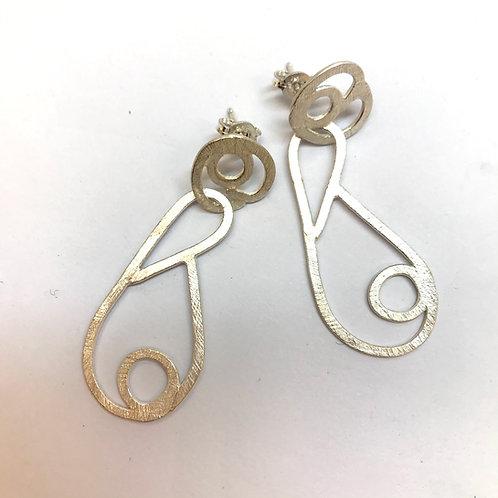Swirl Earrings by Phillipa Gee