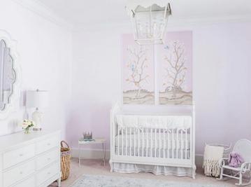 Custom Scaled Lilac Lemon Trees Panels A & B
