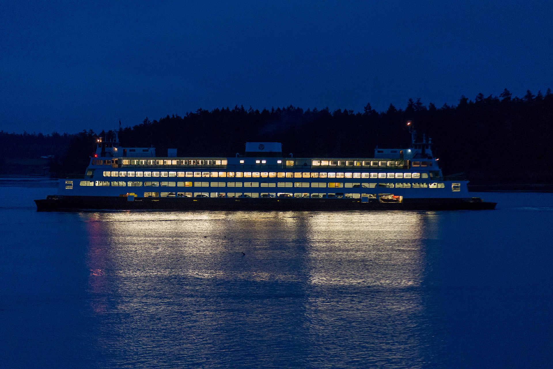Waveside Dream Ferry Passing