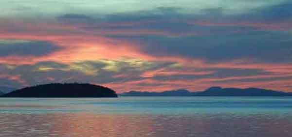 Sea Dream Sea Blue Sunset