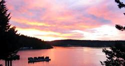 Mariner's Dream Cottage Sunset