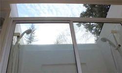 Isle Dream Shower built into skylight