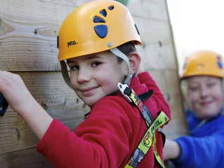 Outdoor Adventurous Activities on the agenda next half term.
