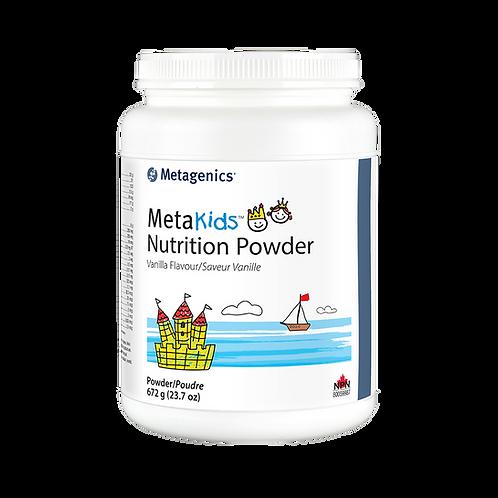 MetaKids - Nutrition Powder Vanilla (12 servings)