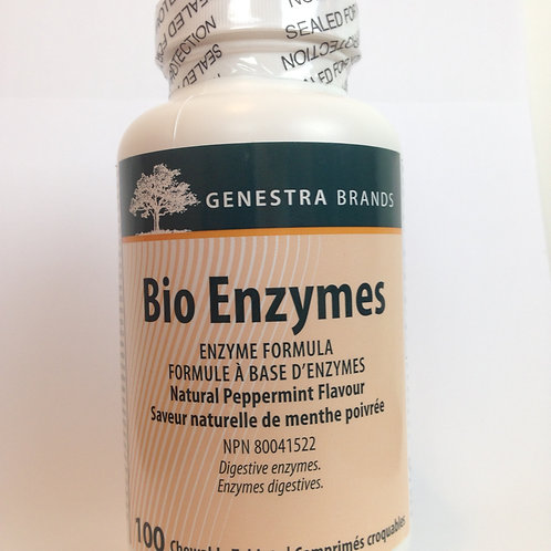 BioEnzymes 100 chewable tablets