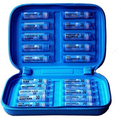 Homeopathic Kit 30CH (20 remedies in case)