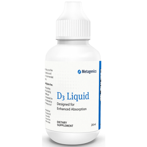 D3 Liquid - Natural Peppermint