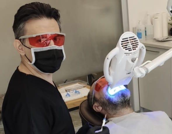 Tek Seans Diş Beyazlatma