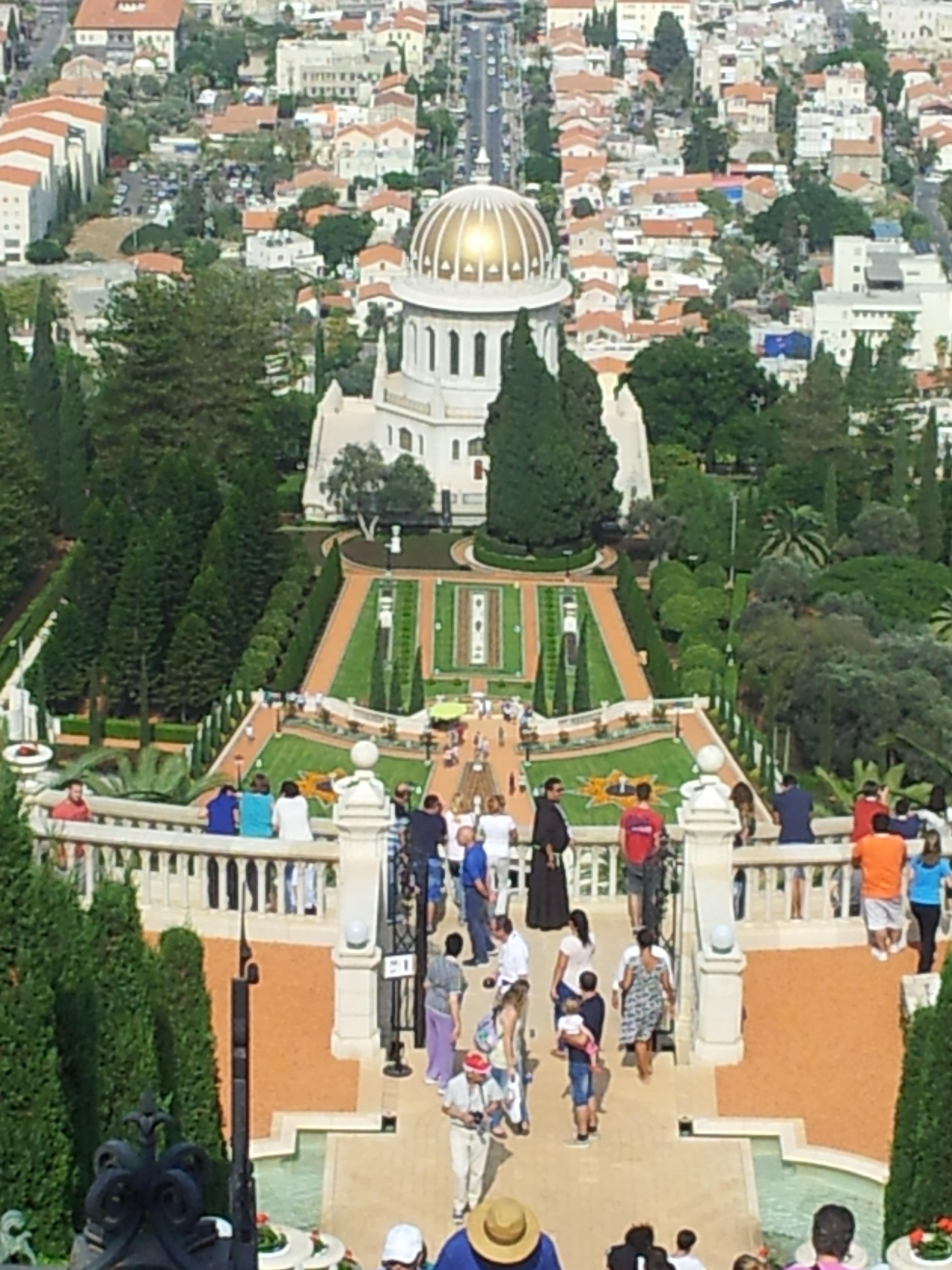 חיפה והגנים הבהאיים