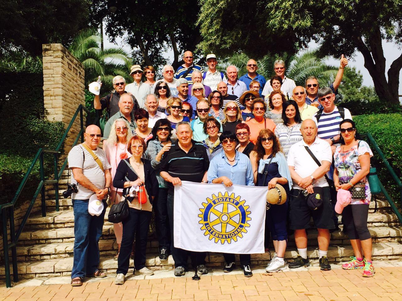 חברי מועדון רוטרי חיפה  בנגבה