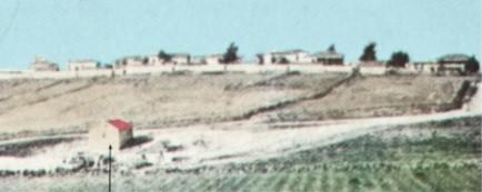"""באר בנימין- מדרום לרחוב הביל""""ויים . שנת 1895"""