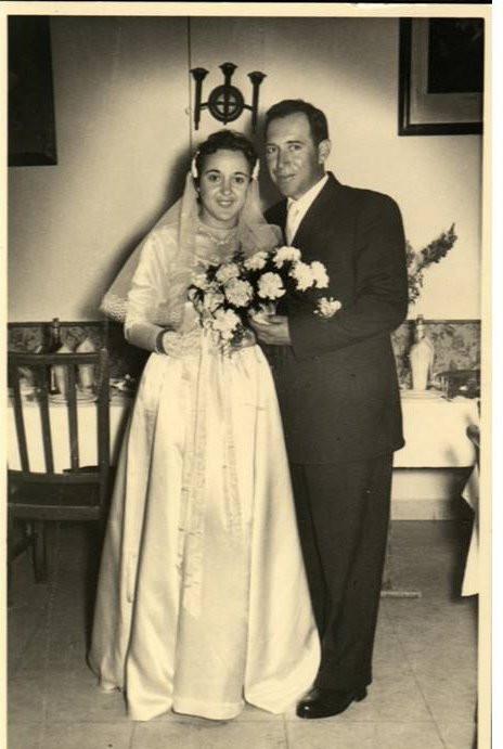 אירית וראובן ביום חתונתם