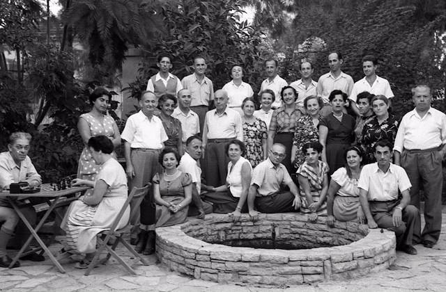 בית המרגוע למורה ולסופר, גדרה  1954