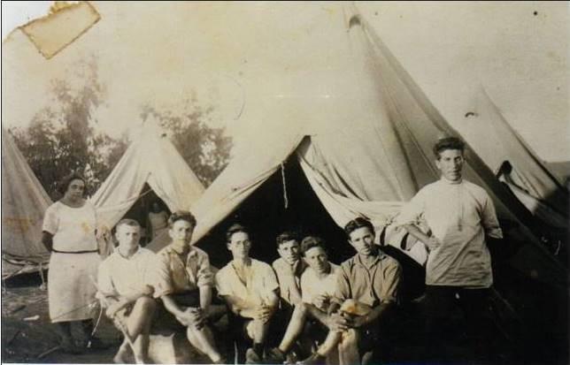 חבורת הדרום, נס ציונה 1925