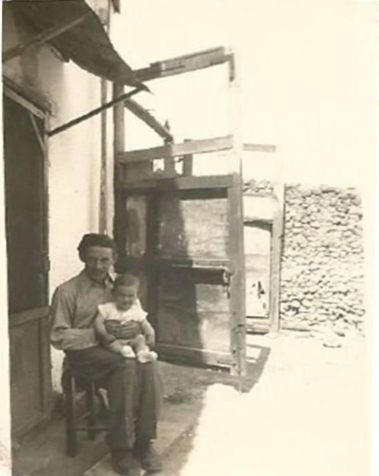 הנס נוטמן , גדרה שנות השלושים עם התינוקת מרגלית