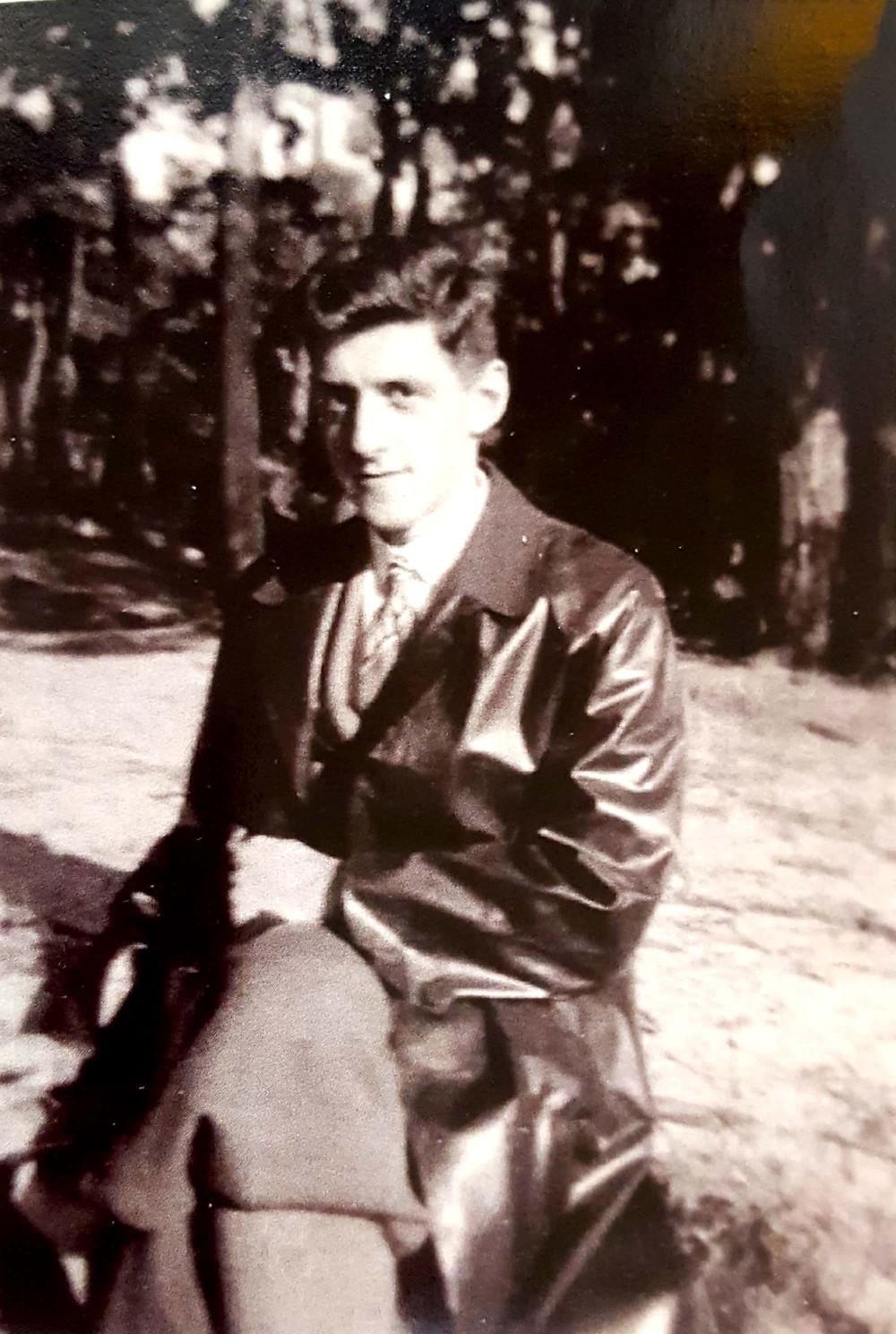 פרנץ קאודר ערב עלייתו ארצה