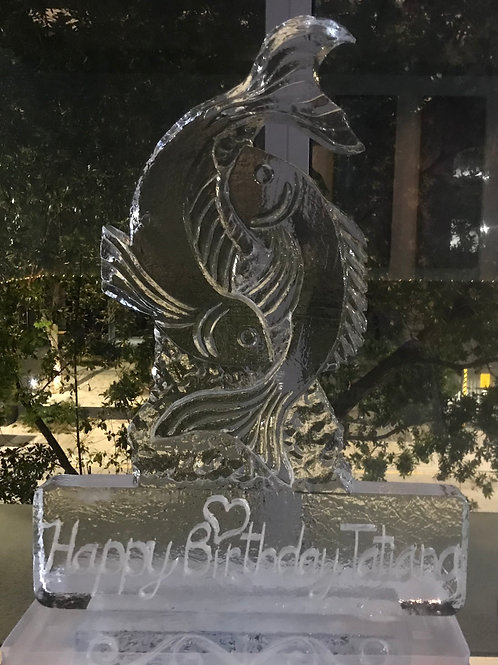 Pisces Theme Ice Sculpture