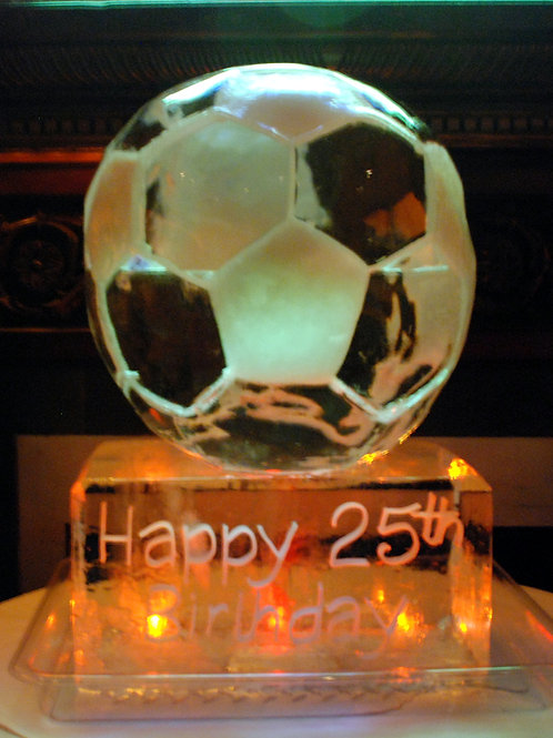 Birthday soccer ball