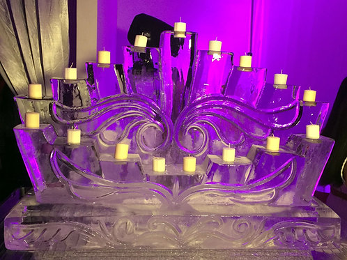 17 candles candelabra for sweet sixteen