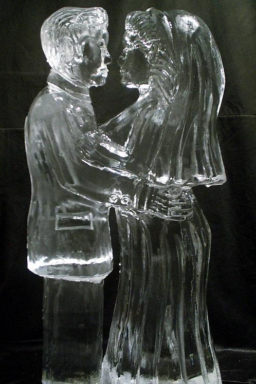 Realistic Wedding Couple
