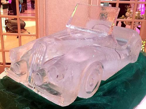 Vintage jaguar roadster