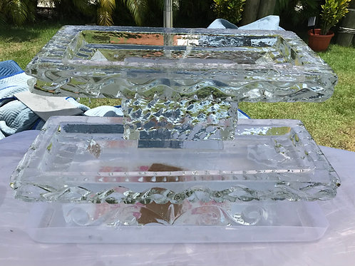 Two Tier Ice Platters