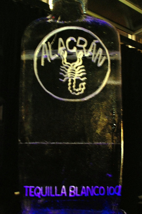 Alacran Tequila Bottle
