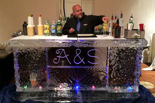 Ice Bar with Initials