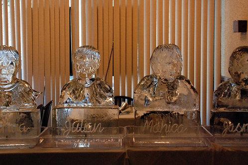 Bust Replicas of Sharon's Children