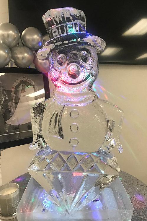 Snowman with Diamond theme for Mr. Bush