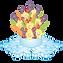 Ice and fruits company logo
