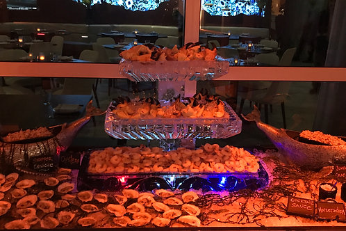 Three Tier Ice Platters For Seafood