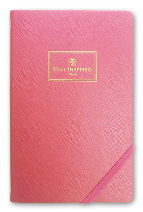 -Classic Successful Notebook-Lady Boss Pink