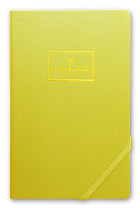 -Classic Successful Notebook-Energetic Yellow