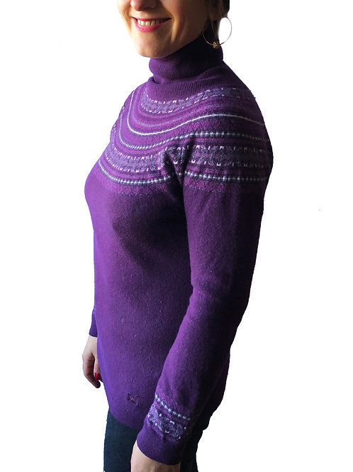 Designer High-Neck Jumper