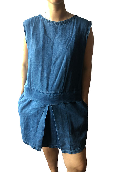 Designer Denim Dress