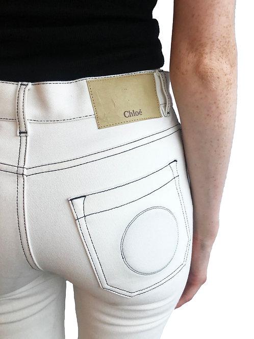Designer White Jeans