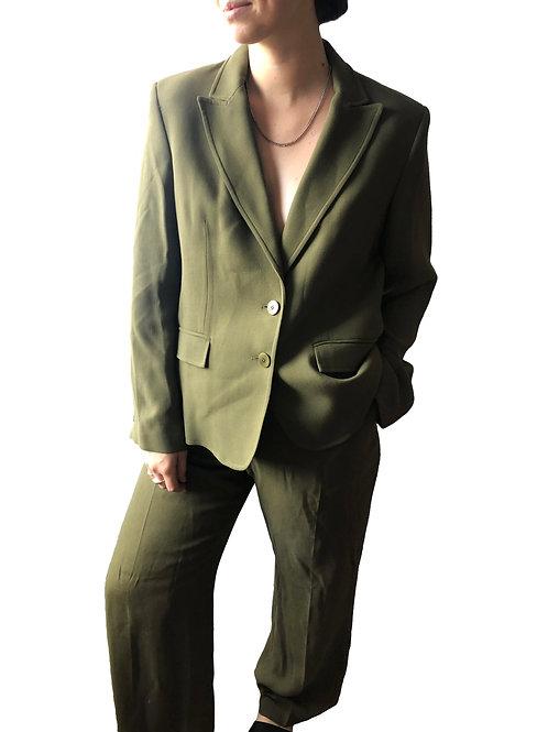 Paul Costelloe Khaki Two-Piece Suit