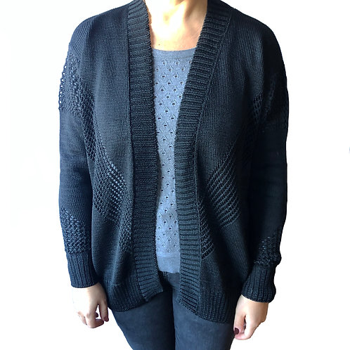 Bimba Y Lola Black Knitted Cardigan