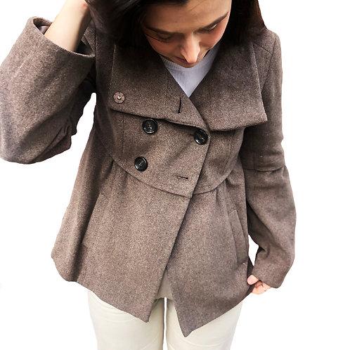 Ann Taylor Vintage Brown Pea Coat