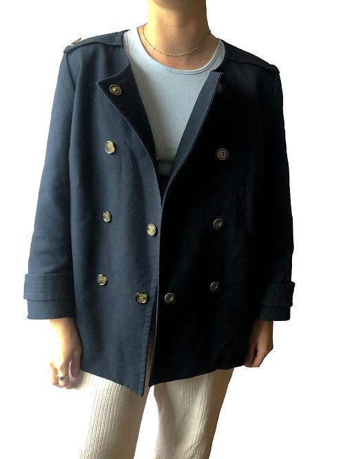 Navy Short Jacket