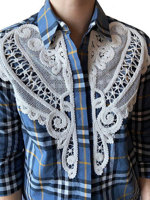 Intricate Lace Detailed Shirt