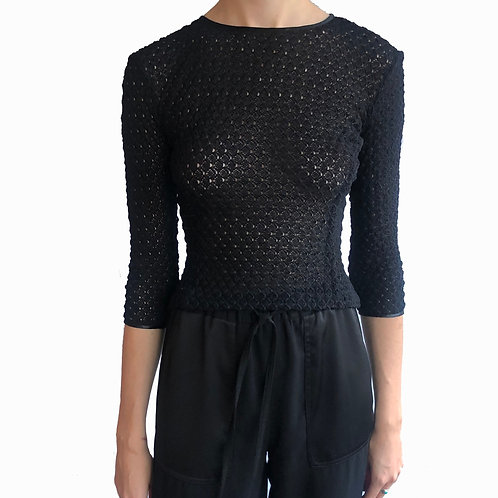 Designer Black Top